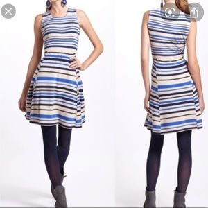 Anthropologie Sparrow French Striped Sweater Dress
